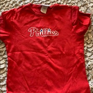 4/$10 Phillies fitted tee- size s MUST bundle ;)